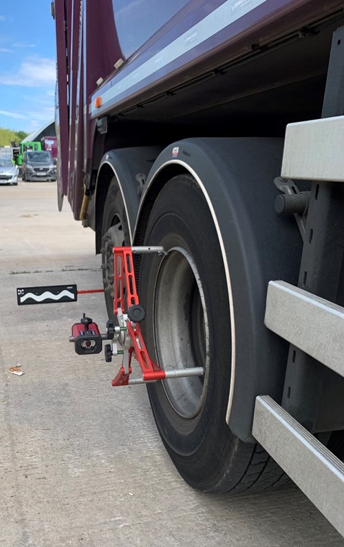 JOSAM Cam-aligner for truck tyre management