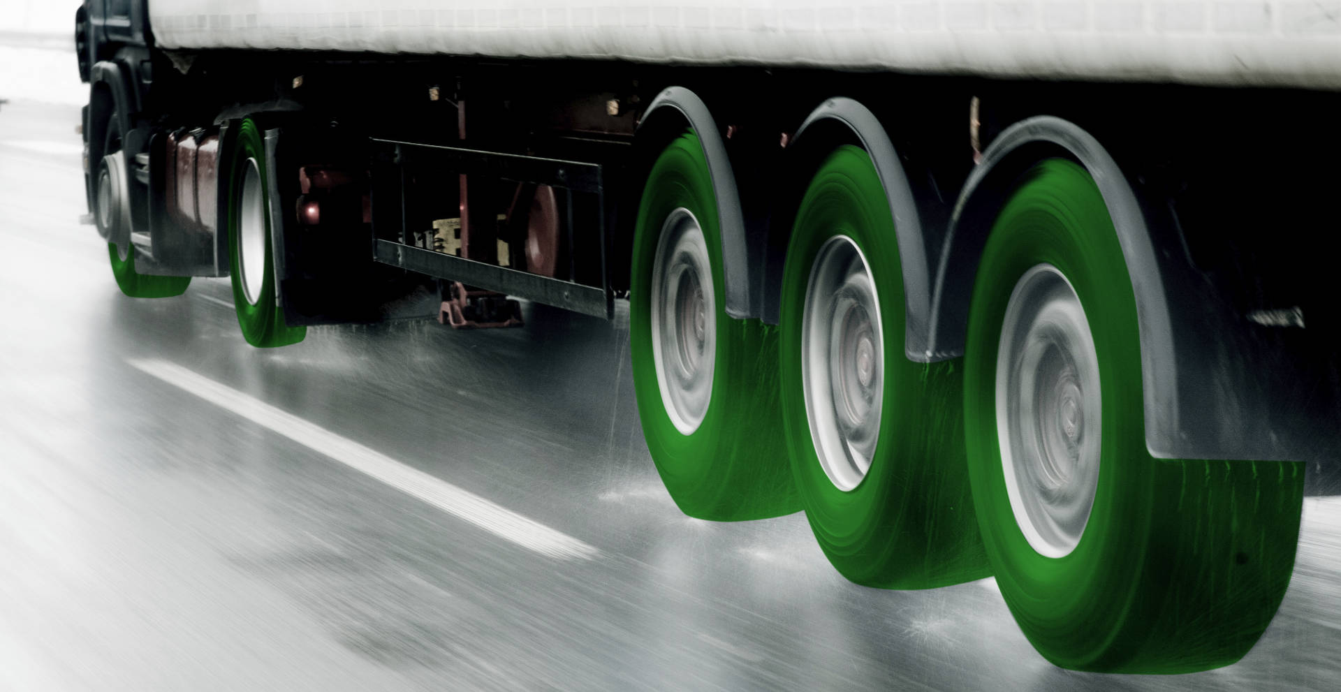 truck tyre pressure management system uses smart wheel sensors
